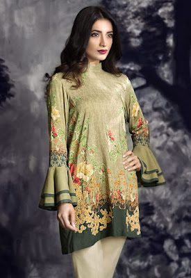 cross stitch winter linen khaddar dresses collection 2017 (2)