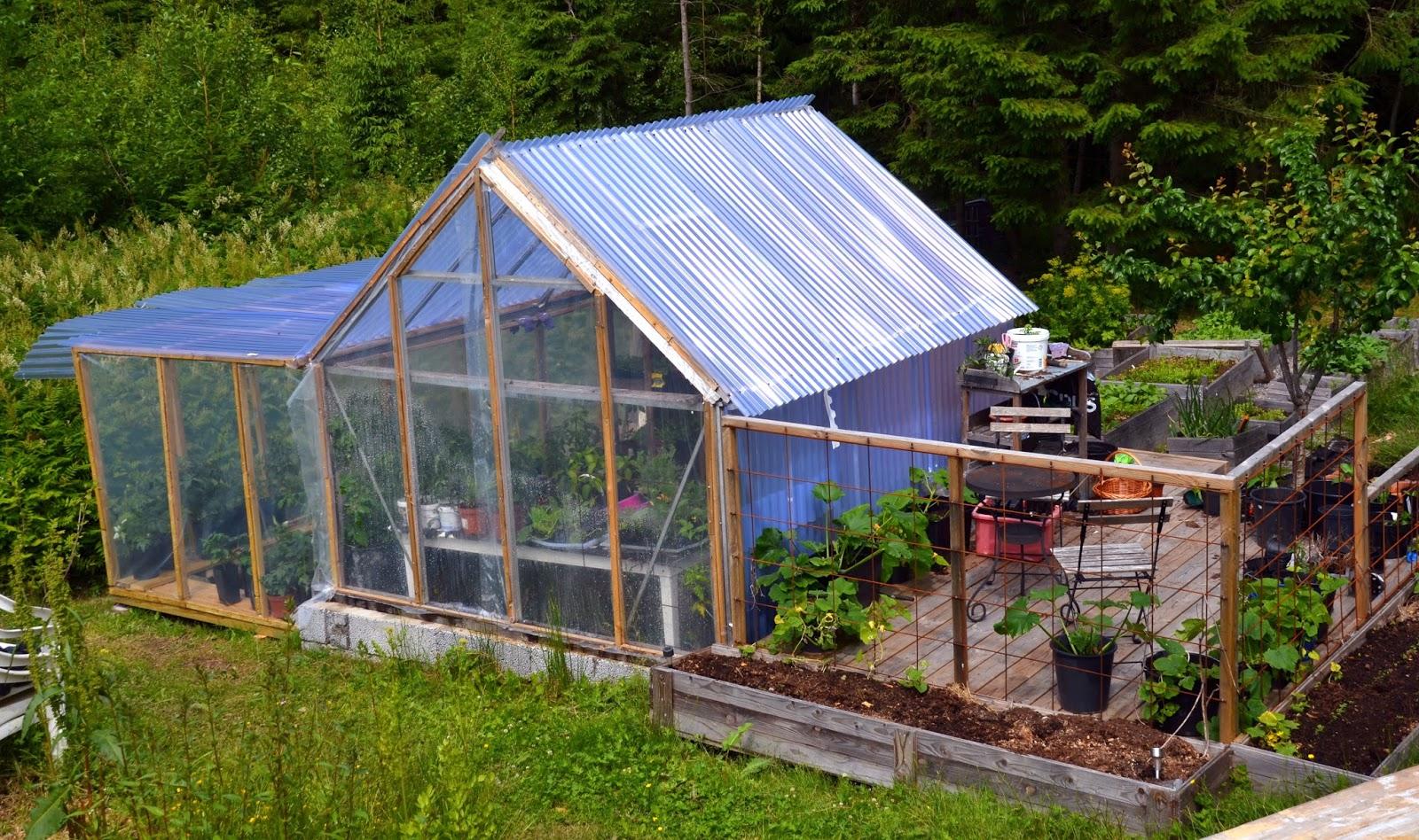 små växthus i plast