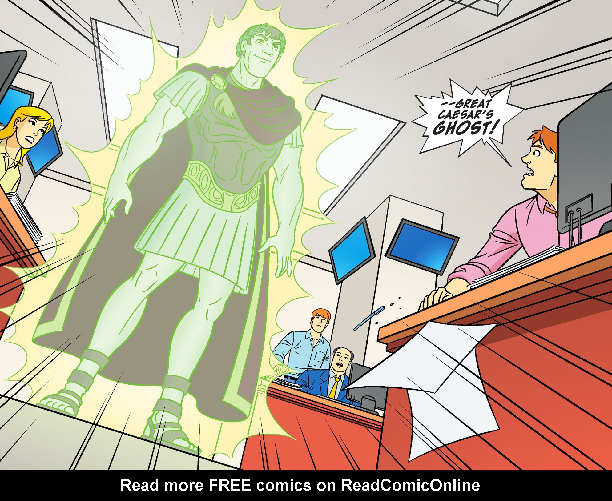 Read online Scooby-Doo! Team-Up comic -  Issue #17 - 5