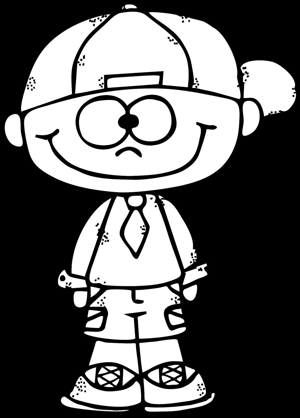WorksheetJunkie: Cute Boy Clipart Freebie!