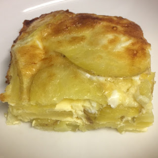 potatoe cheese flan