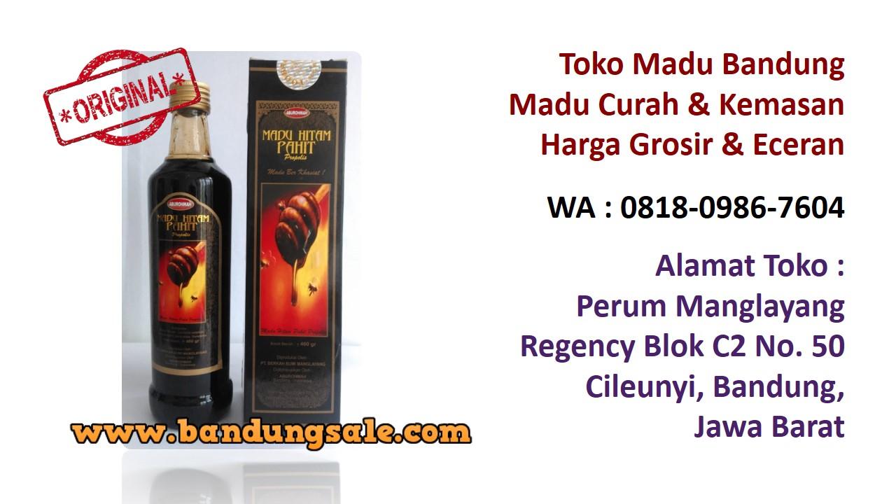 Apotik Madu Pahit Curah Bandung Murah Wa 081809867604 Hitam Az Zikra Original