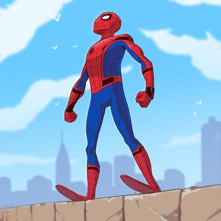 Foto Gambar Kartun Spiderman Terbaru Paling Keren Foto Gambar Gif