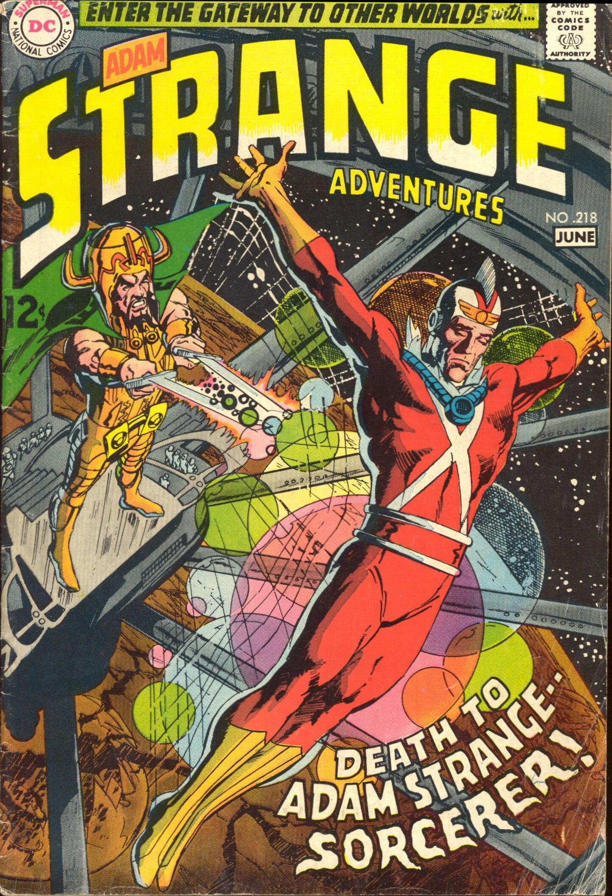 Strange Adventures (1950) issue 218 - Page 1