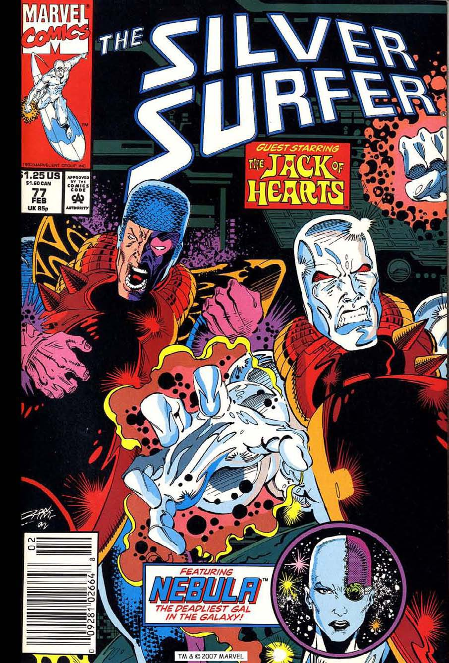 Silver Surfer (1987) issue 77 - Page 1