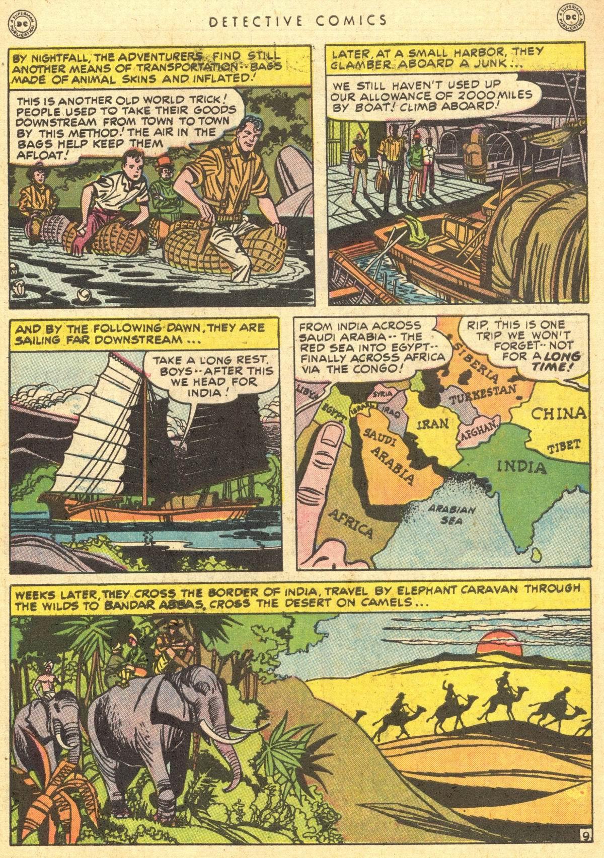 Read online Detective Comics (1937) comic -  Issue #150 - 44