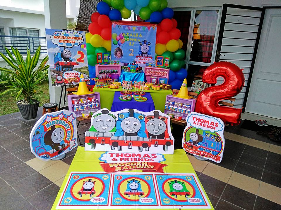 Thomas And Friends Birthday Decorations