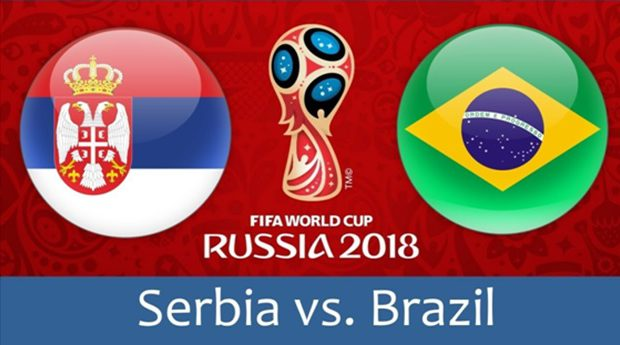 Serbia vs Brazil Full Match Replay 27 June 2018