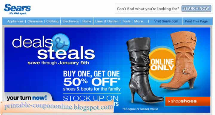 Sears coupon code for lawn mower