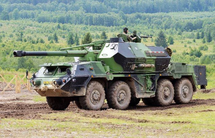 Meriam howitzer DANA Ceko