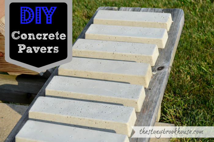 DIY Concrete Pavers