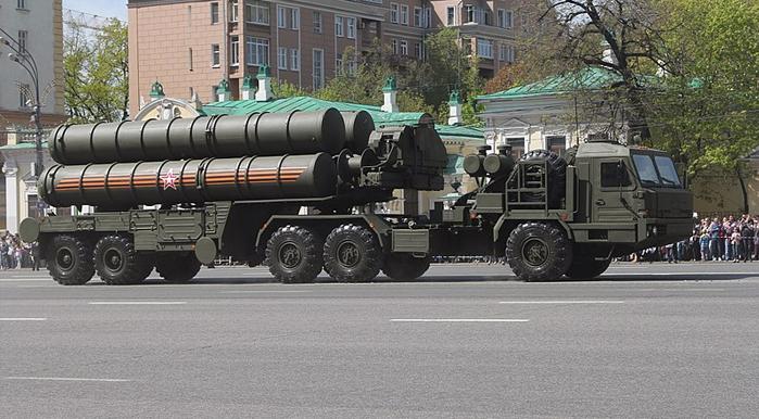S-400 Triumph Russian anti-aircraft system
