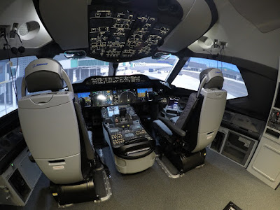 Simulador Boeing Dreamliner