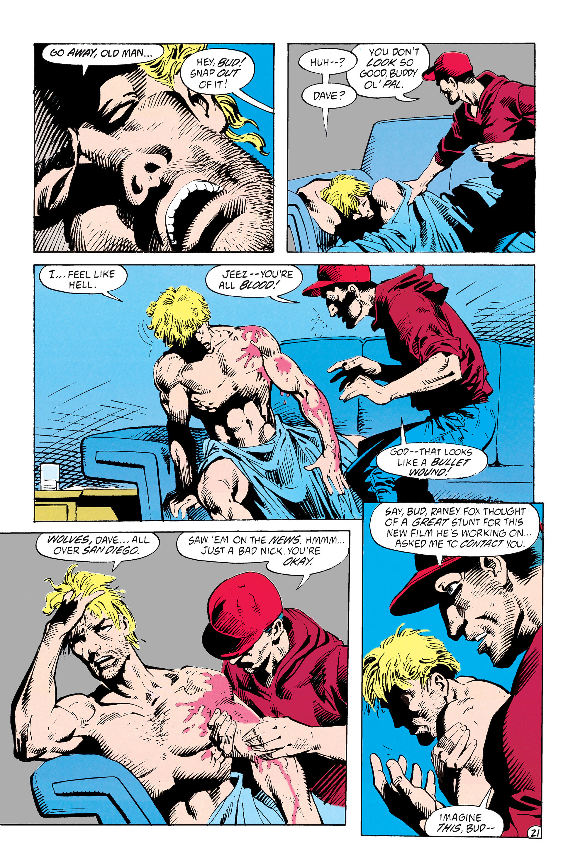 Read online Animal Man (1988) comic -  Issue #39 - 22
