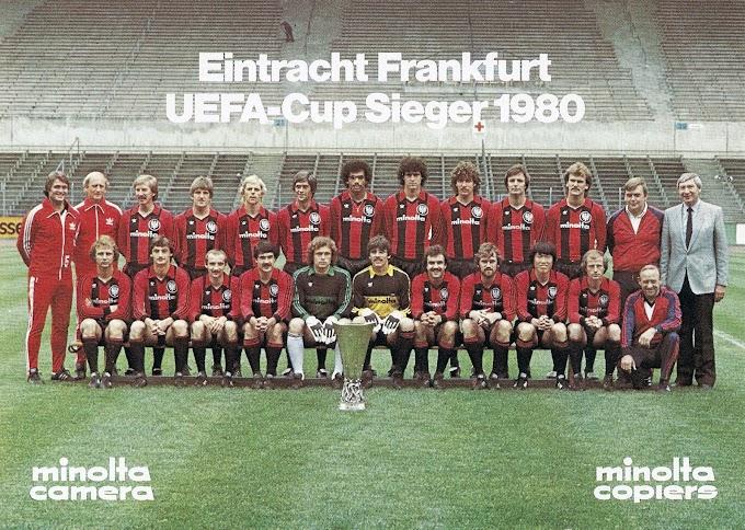 EINTRACHT FRANKFURT 1979-80. By Bergmann.