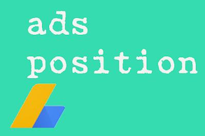 penempatan iklan adsense yang baik dan aman