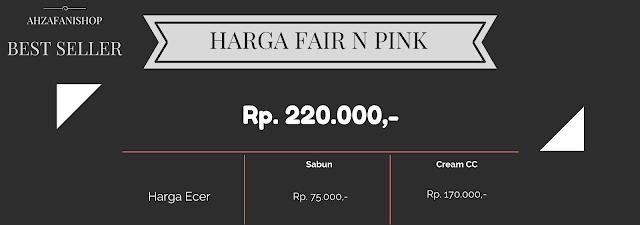 Harga Fair N Pink Paket Wajah Original