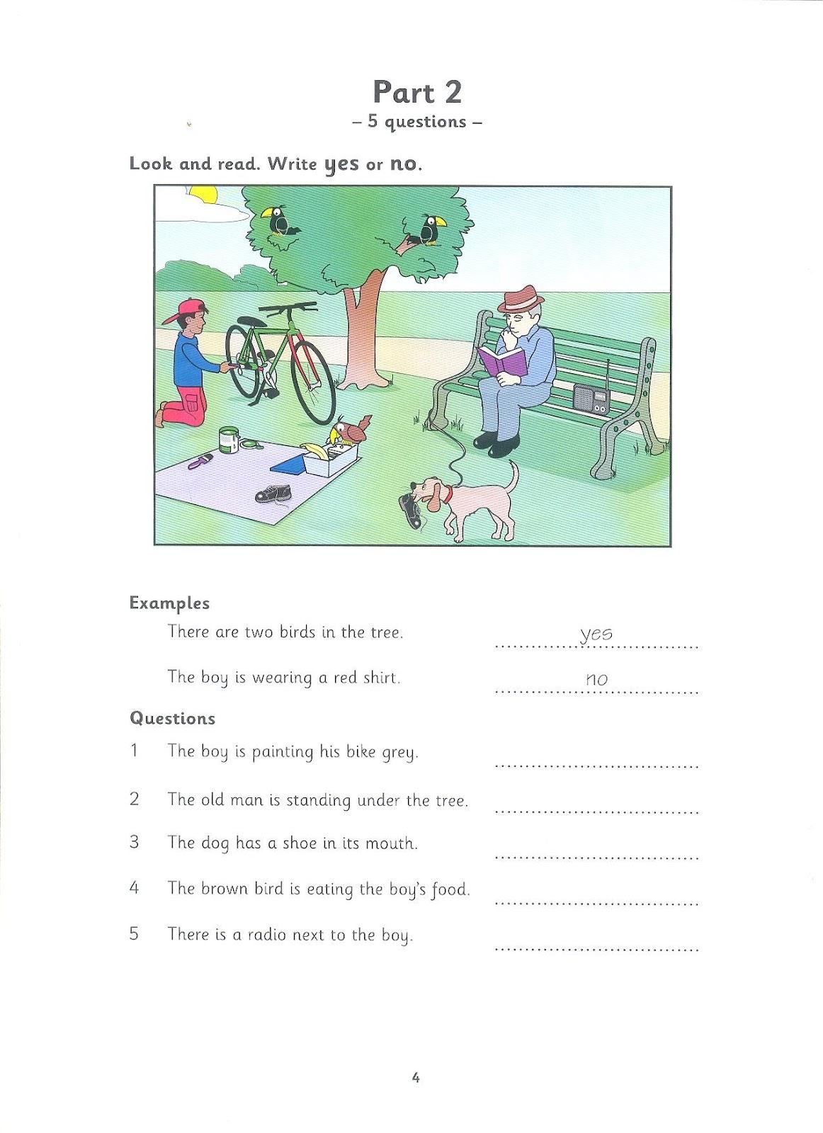 Hi Yle Cambridge Young Learners English Test