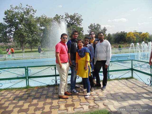 Zakir Hussain Rose Garden of Chandigarh