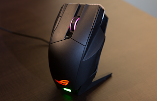 ROG Spatha nirkabel / kabel gaming mouse
