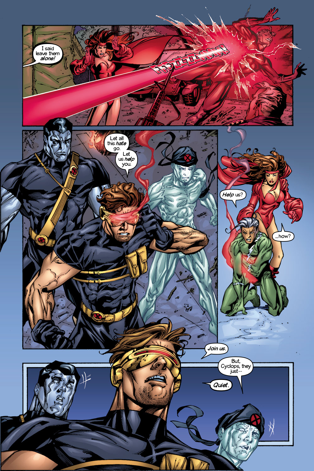 Read online Ultimate X-Men comic -  Issue #1/2 - 12