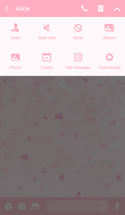 Cherry Blossoms Theme.