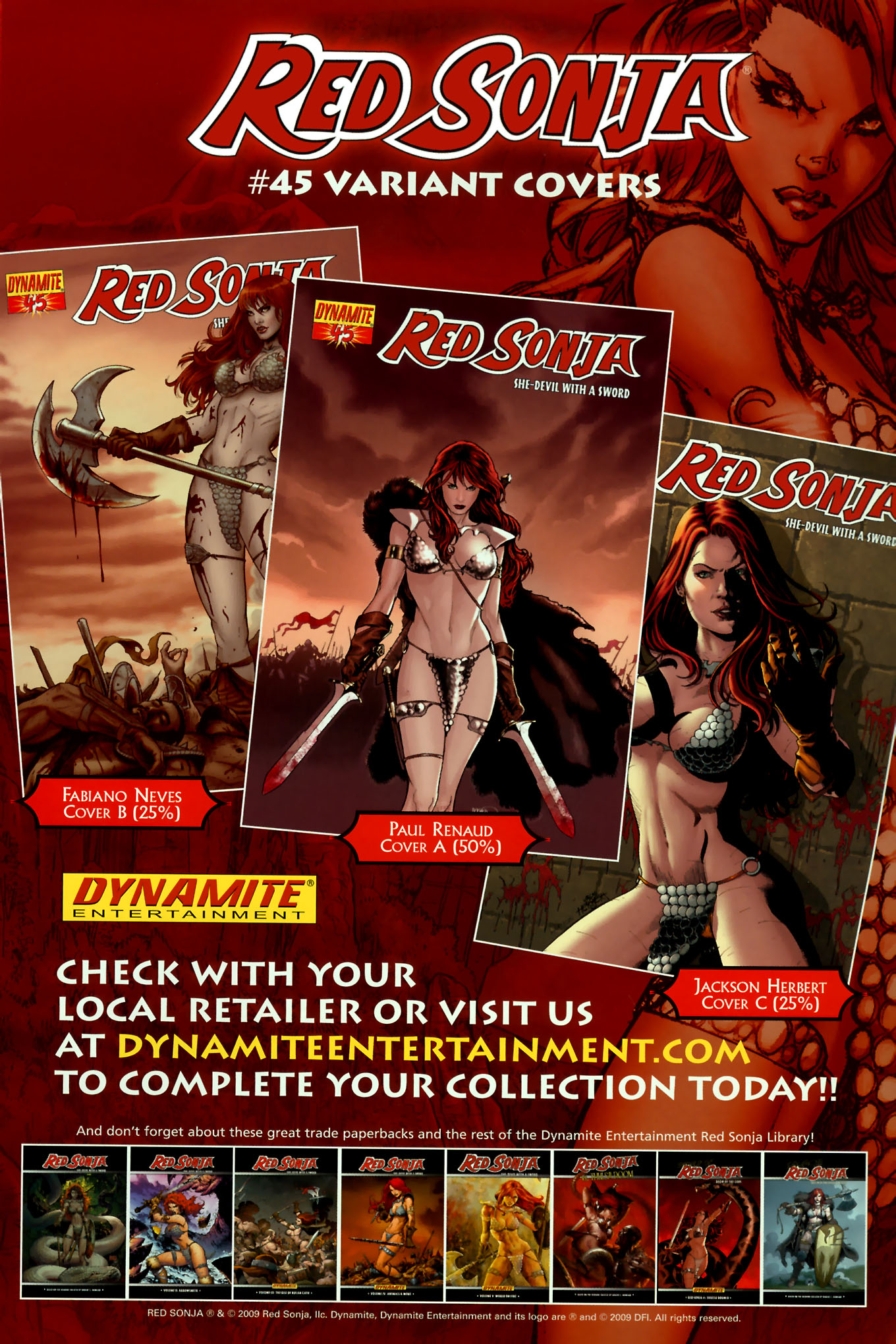 Read online Red Sonja (2005) comic -  Issue #45 - 34