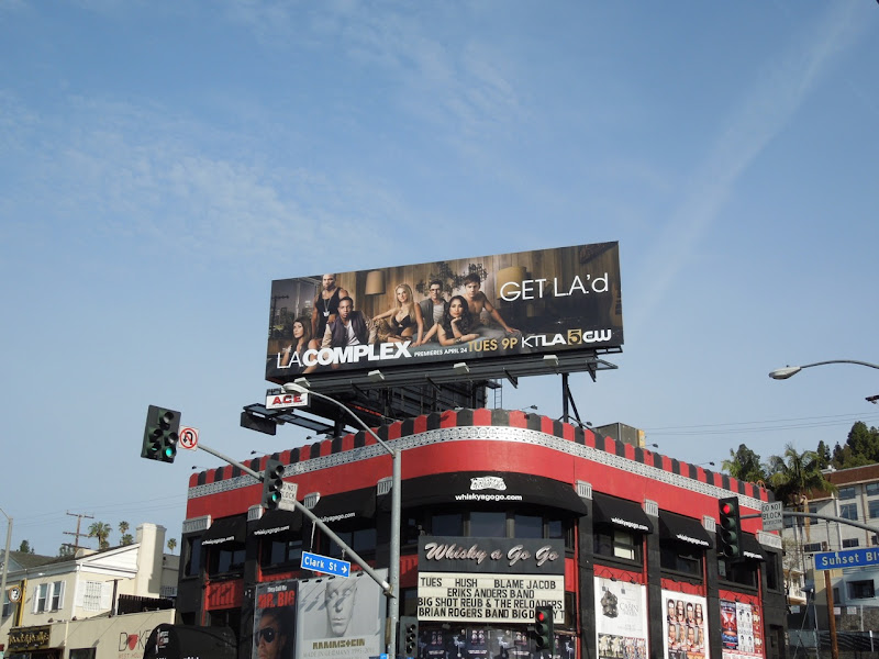 LA Complex TV billboard