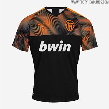 Valencia 20-21 Away Kit Leaked - Footy Headlines