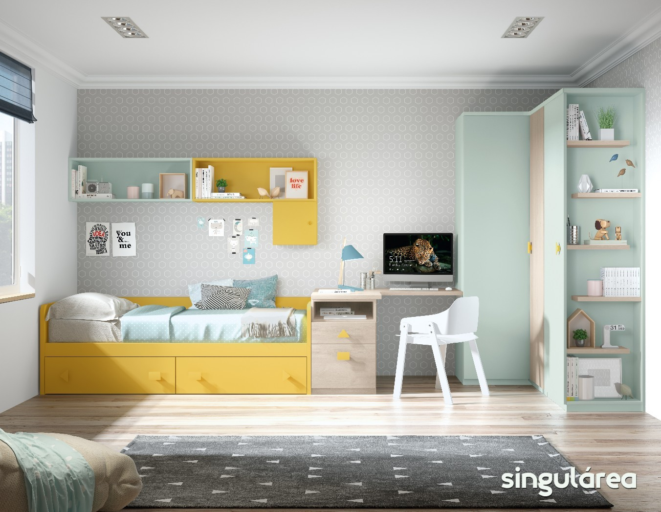 Estanterias Para Dormitorios Infantiles Best Ideas Low Cost Para  ~ Estanterias Para Libros Infantiles