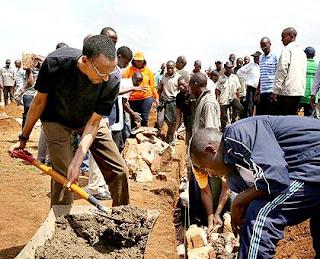 Umuganda became an official Rwandan government program