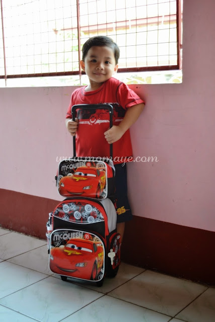 McQueen Cars, Trolley bag, School Bag