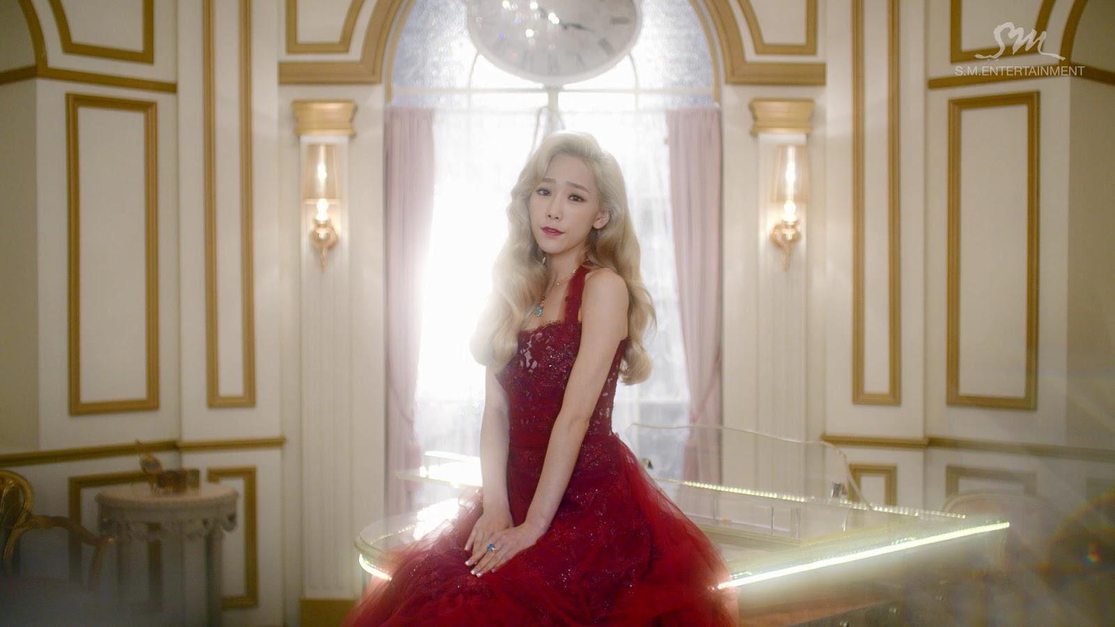 Red Dress Girl Wallpaper Girl S Generation Tts Dear Santa Screen Caps Daily K