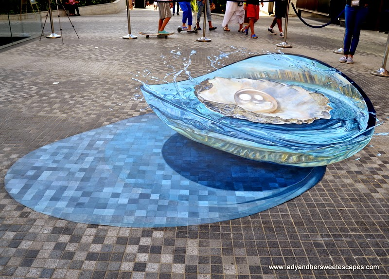 3D art in Dubai Canvas