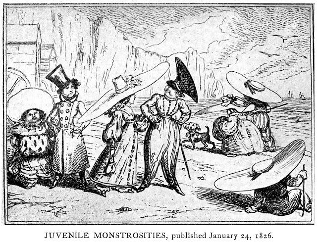 1826 youth fashion parody large cartoon