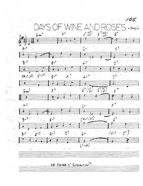 Partitura Trompeta Henry Mancini