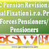 7th CPC : Pension revision on Notional Fixation for Pre-2016 Armed Forces Pensioner: DESW Order 05.09.2017