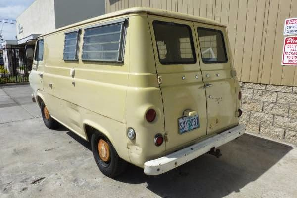 Dodge Camper Van >> Used RVs 1966 Ford E100 Econoline Camper Van For Sale by Owner
