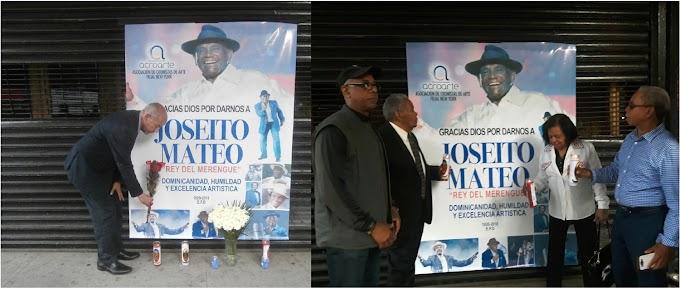 Con música, vigilia y oraciones dominicanos rinden homenaje a Joseito Mateo en el Alto Manhattan