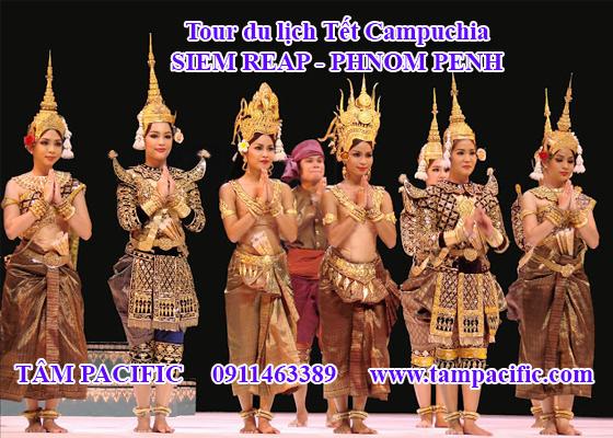Tour du lịch Tết Campuchia SIEM REAP - PHNOM PENH 4N3Đ