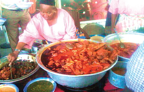 Food joint in Lagos