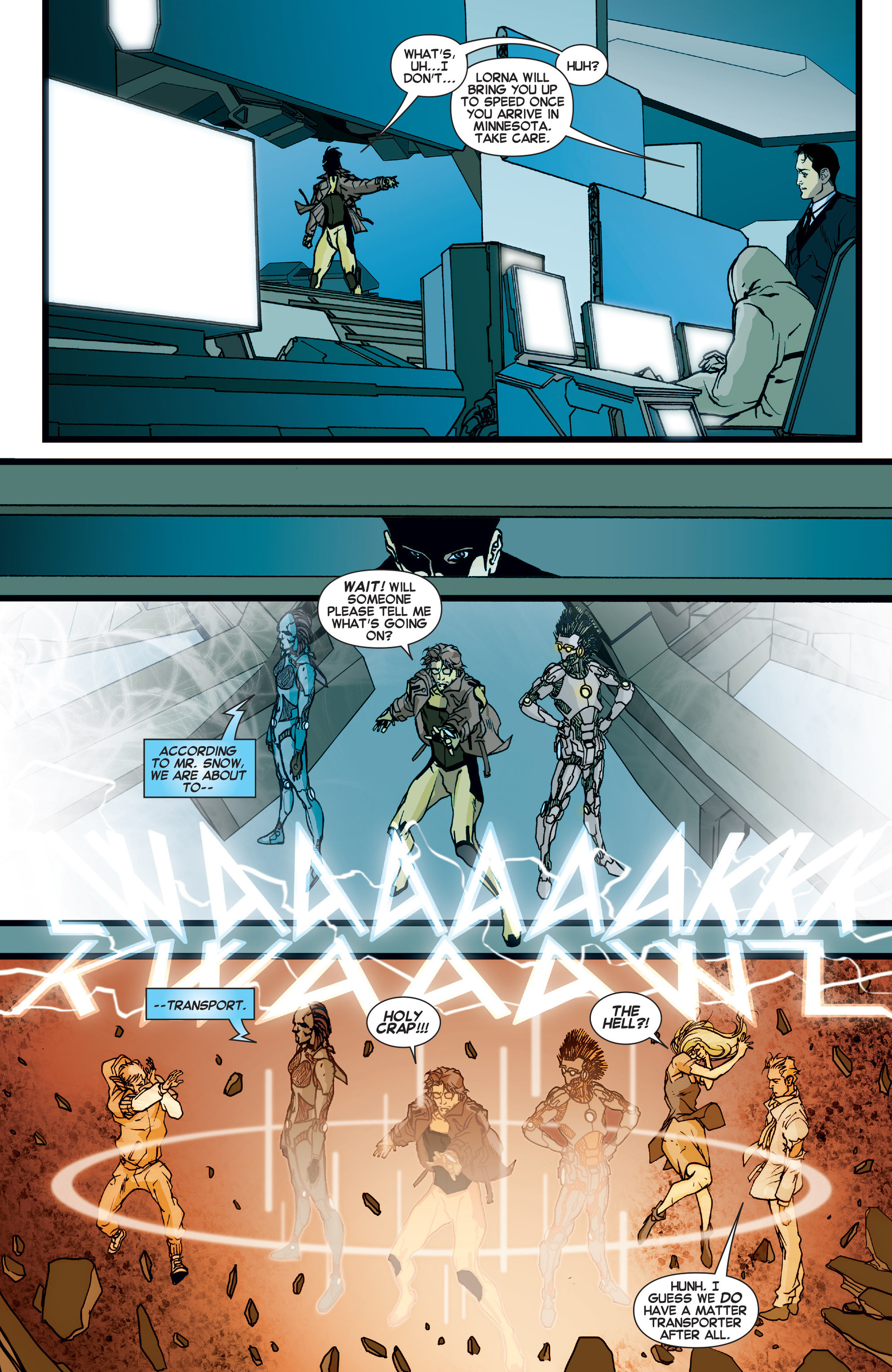 Read online All-New X-Factor comic -  Issue #10 - 12
