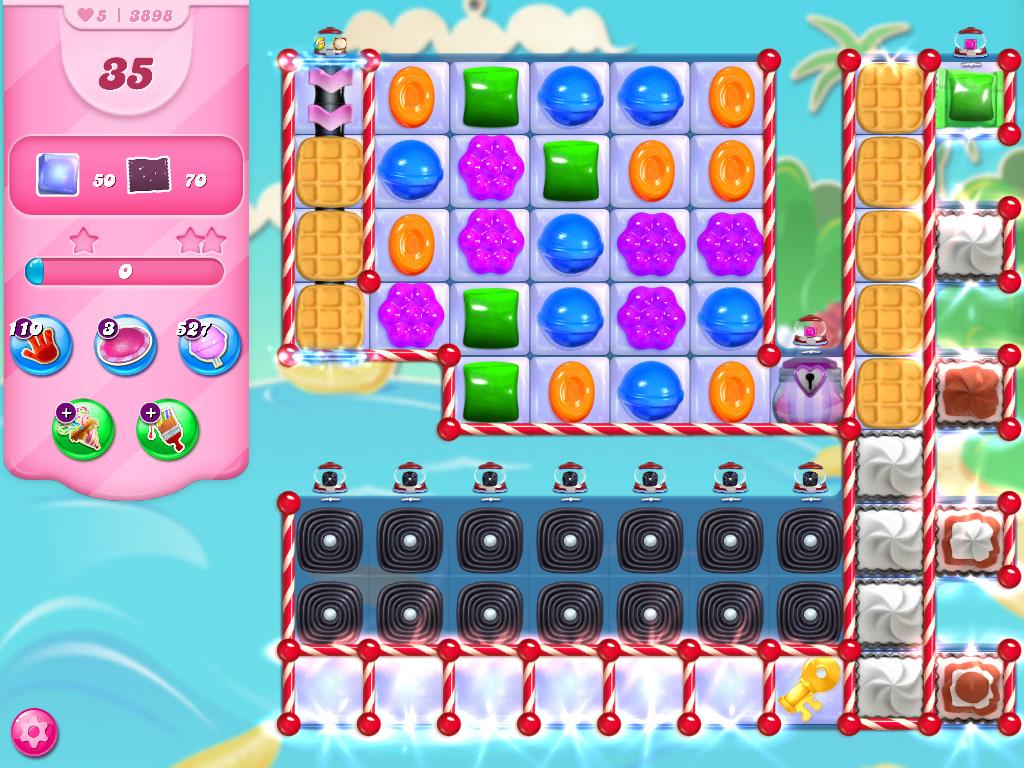 Candy Crush Saga level 3898