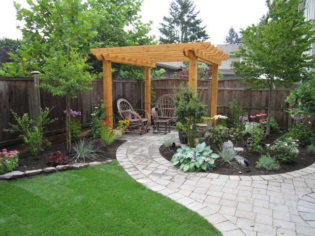 More than 50 beautiful house garden and landscaping ideas Backyard ideas without grass