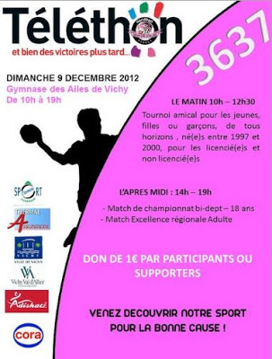 Téléthon 2012 Vichy