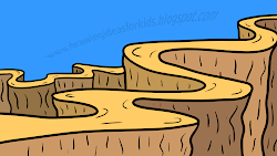 cool drawing drawings easy fun cliparts idea really landscape library clipart