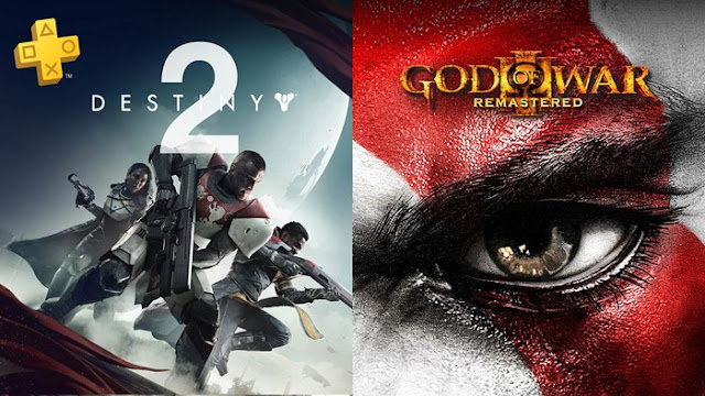 PS Plus Setembro Destiny 2 God of War 3