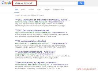 mencari dokumen dengan cepat di google