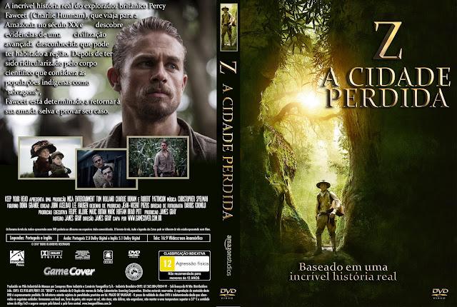 Capa DVD Z A Cidade Perdida [Exclusiva]