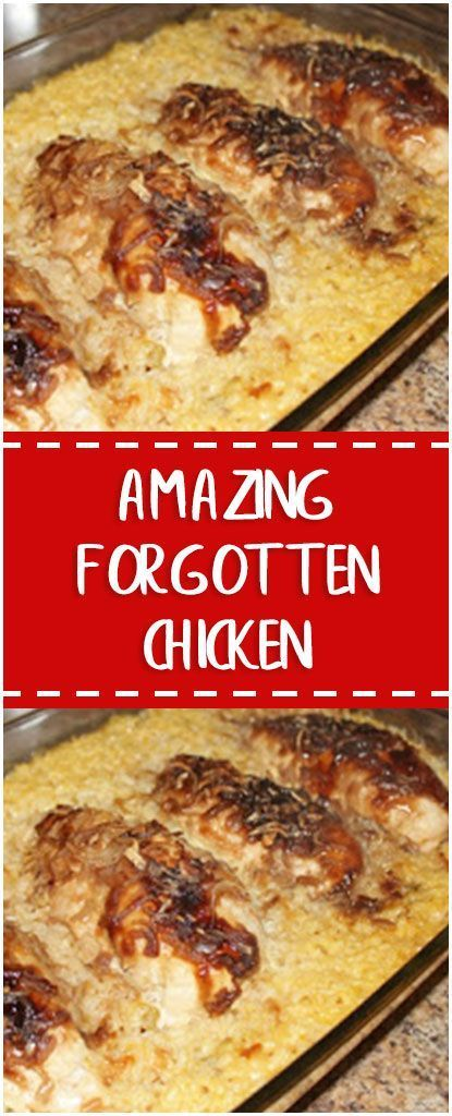 #RECIPES (BEST) AMAZING FORGOTTEN CHICKEN